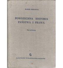 Powszechna historia państwa i prawa, tom 1