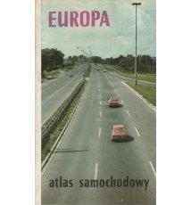 Europa. Atlas samochodowy