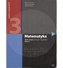 Matematyka 3. Zbiór zadań