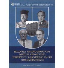 Pracownicy naukowo-dydaktyczni Instytutu Historycznego UW