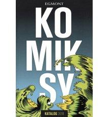 Komiksy - katalog 2018