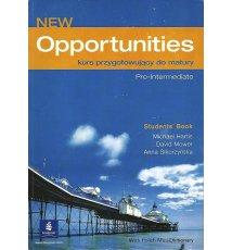 New Opportunities. Pre-Intermediate kurs przygotowujący do matury. Student's Book