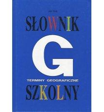 Słownik szkolny. Terminy geograficzne