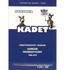 Kangur matematyczny 1992-2015. Kadet