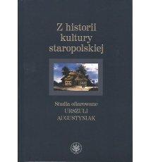 Z historii kultury staropolskiej