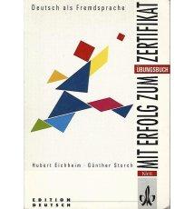 Mit Erfolg zum Zertifikat, Übungsbuch + kaseta