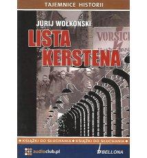 Lista Kerstena - Audiobook