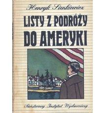 Listy z podróży do Ameryki