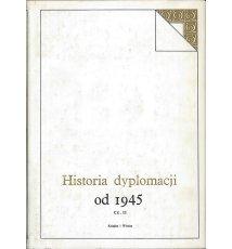 Historia dyplomacji od 1945 r. Tom V, cz. druga