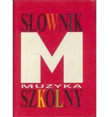 Słownik szkolny - muzyka