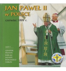 Jan Paweł II w Polsce czerwiec 1999 r. cz. 1