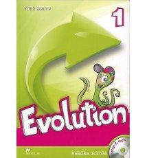 Evolution 1. Książka ucznia + CD