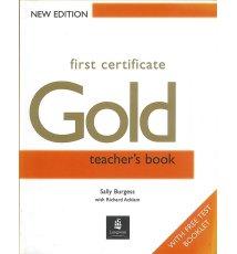 First Certificate Gold Teacher's Book