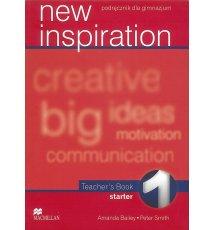 New Inspiration 1 Teacher's Book + CD