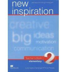 New Inspiration 2 Teacher's Book + CD
