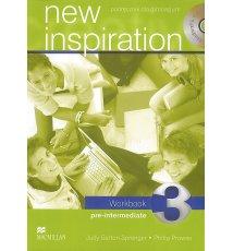 New Inspiration 3 Workbook + CD