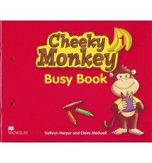 Cheeky Monkey 1. Busy Book