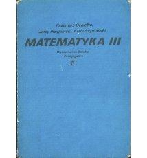 Matematyka III