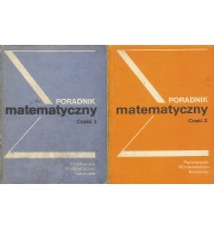 Poradnik matematyczny. Cz. 1 i 2