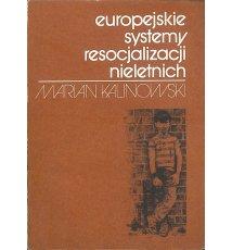 Europejskie systemy resocjalizacji nieletnich