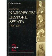 Słownik najnowszej historii świata 1900-2007. Tom 2: czechy-in